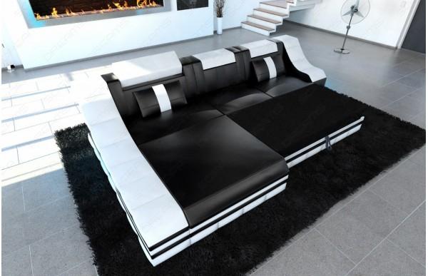 TURINO - L-shape, left orientation, leather