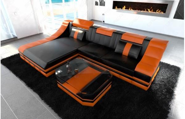 TURINO - L-shape, left orientation, eco leather, lying...