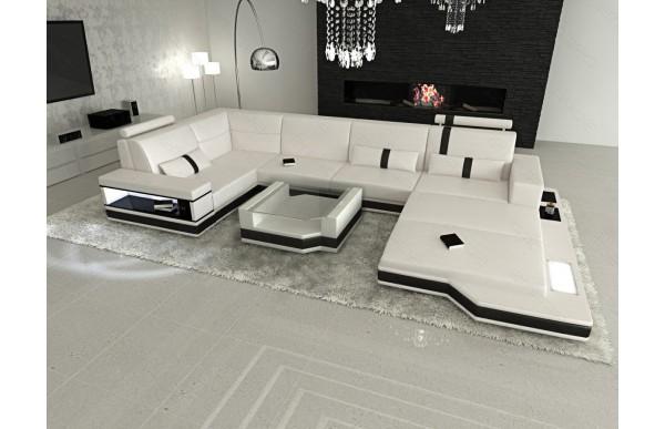 MESSANA (K) - U-shape, right orientation, eco leather,...