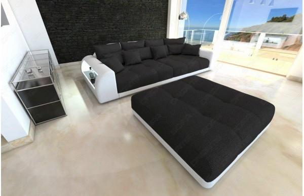 MIAMI - kształt Big Sofa, skóra