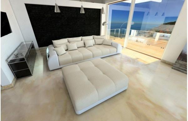 MIAMI - kształt Big Sofa, skóra ekologiczna