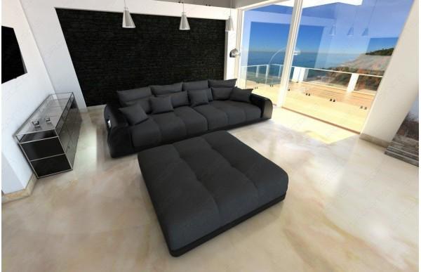 MIAMI (K) - kształt Big Sofa, materiał