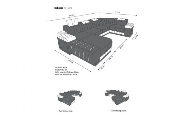 BELLAGIO, - ZIW-19-0707