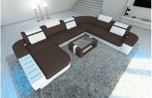 BELLAGIO - kształt XL, układ lewy, materiał