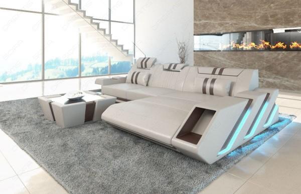 APOLLONIA - L-shape, right orientation, eco leather,...