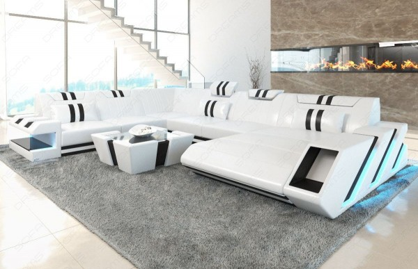APOLLONIA - XL-shape, right orientation, leather, lying function