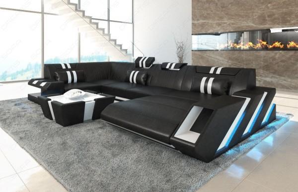 APOLLONIA - U-shape, right orientation, eco leather,...