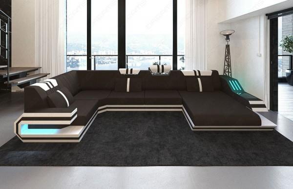 RAVENNA - U-shape, right orientation, textile, lying function