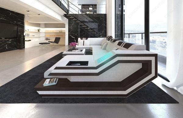 RAVENNA (K) - U-shape, right orientation, textile, lying function
