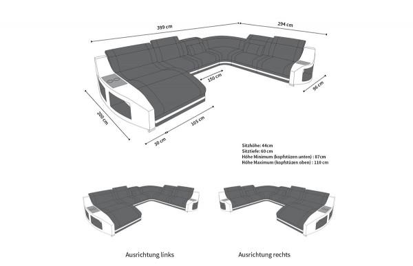 SWING (K) - XL-shape, right orientation, textile