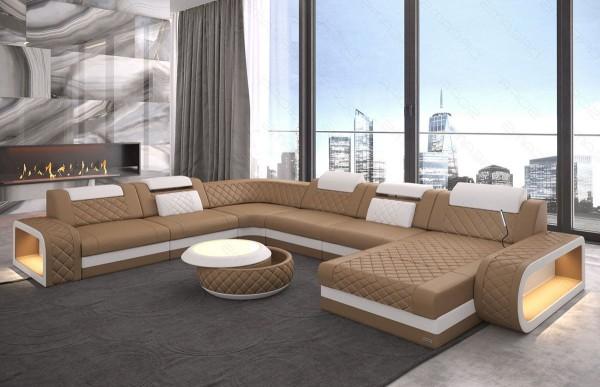 BERLIN (K) - XL-shape, right orientation, eco leather,...