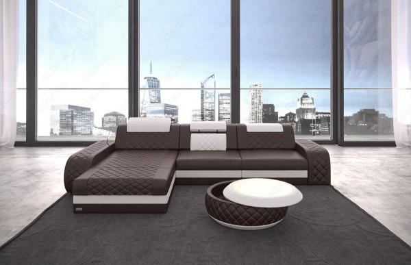 BERLIN - L-shape, left orientation, eco leather