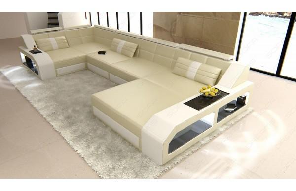 AREZZO (K) - U-shape, right orientation, eco leather,...