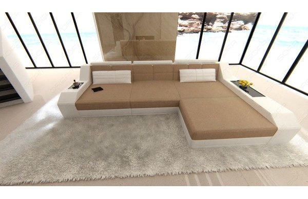 AREZZO - L-shape, right orientation, textile